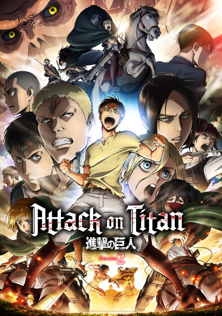 is attack on titan dub good