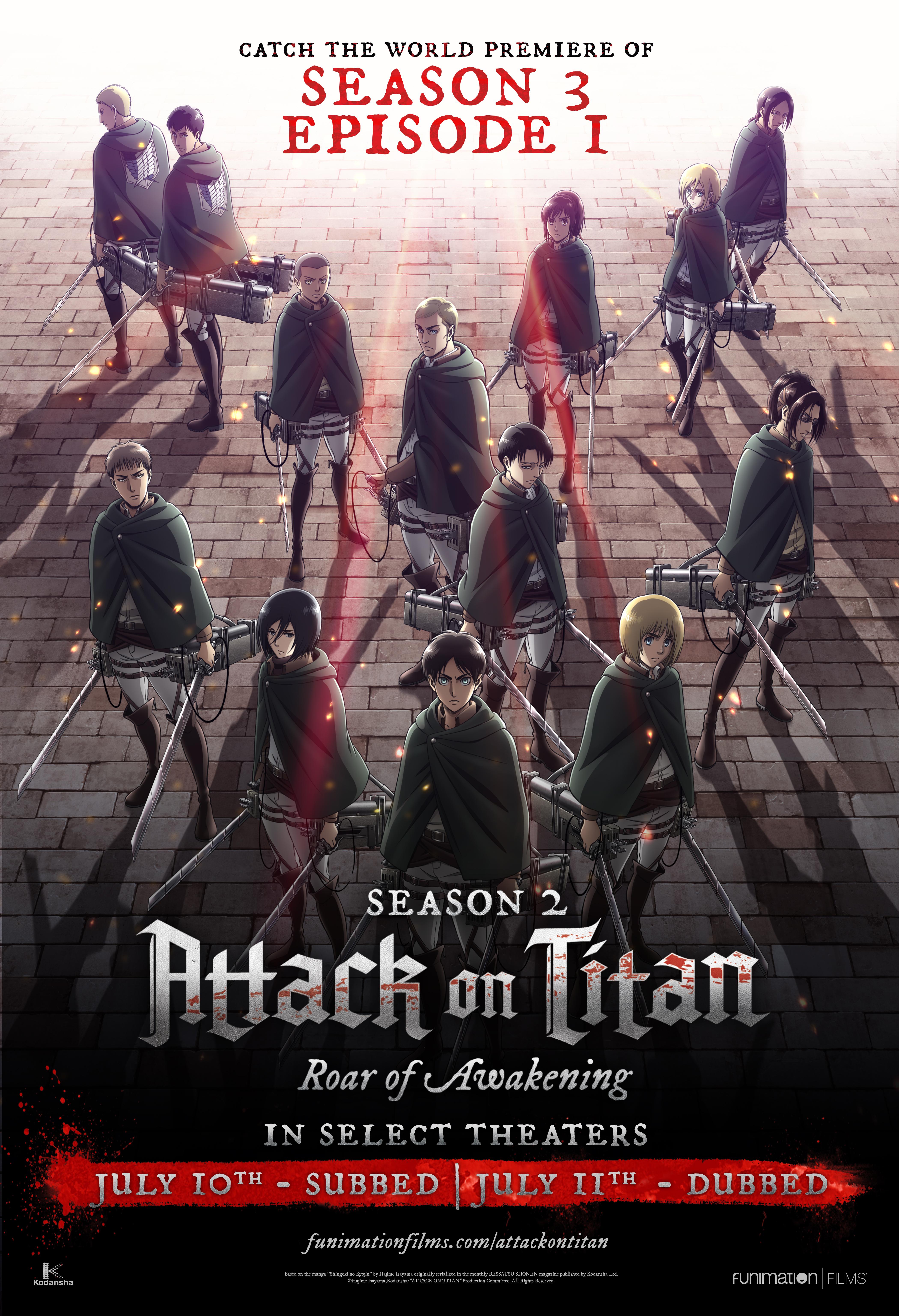 Attack on Titan Season 3 World Premiere Event - Funimation