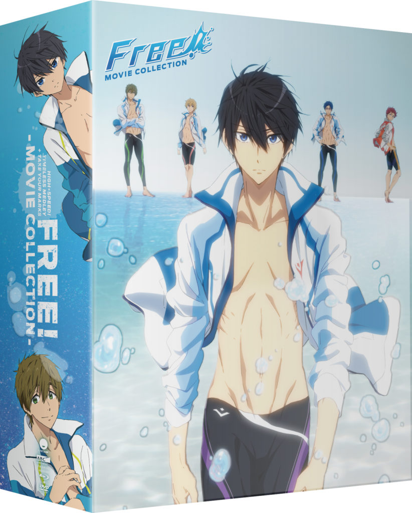 Free! Movie Collection Box