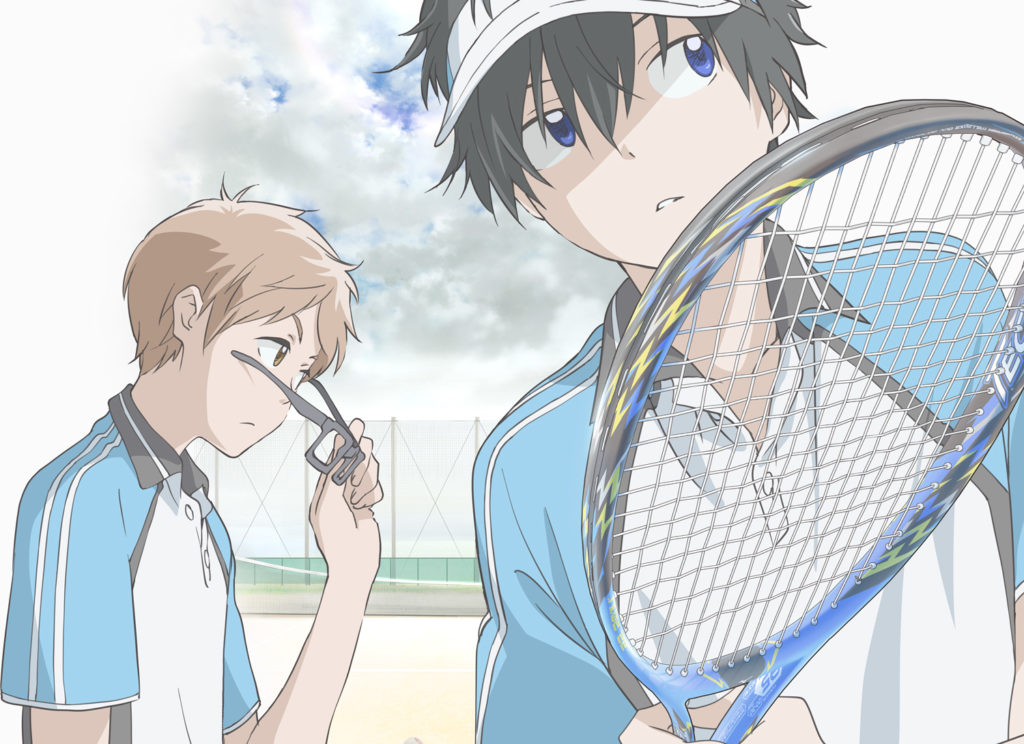 Stars Align Anime to be Featured at Tokyo Tennis Tournament