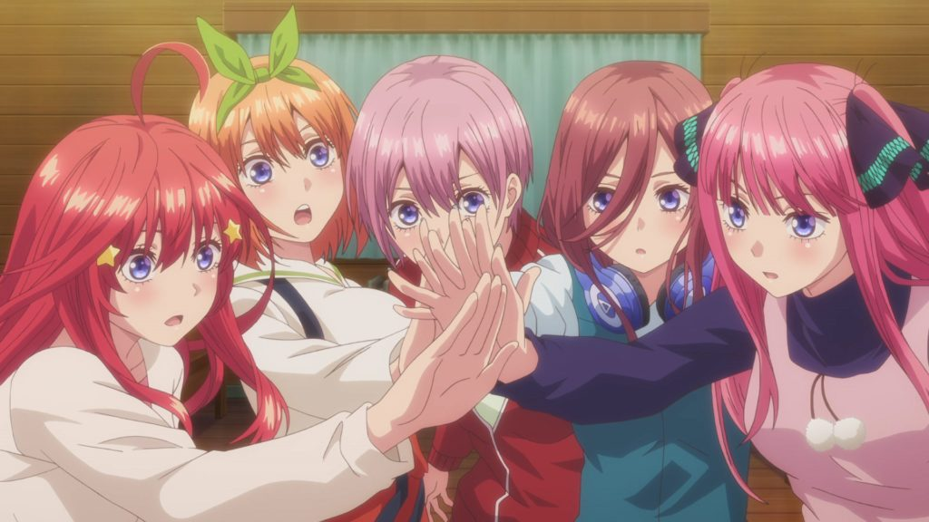 Study Break: The Quintessential Quintuplets Season 2 Has Been Delayed To 2021
