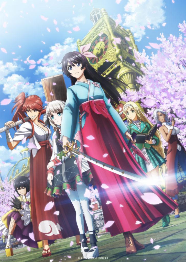 FUN_Sakura_Wars_the_Animation_Keyart