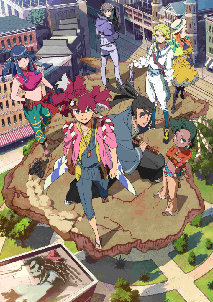 APPARE-RANMAN! Spring key visual
